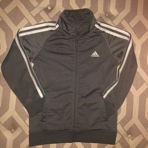 Classic Unisex Adidas Zip-Up Track Jacket, Size 7